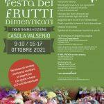 30ma edizione della Festa dei Frutti Dimenticati - Il comunicato dell'Amministrazione comunale di Casola Valsenio